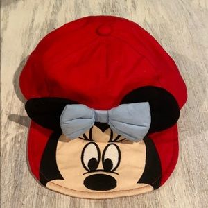 Minnie Mouse soft brimmed base ball cap 12-18m